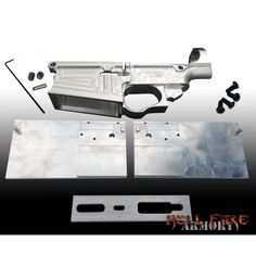 AR-10 80% Lower Receiver with Jig Set Package