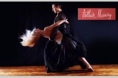 Dancing at Arthur Murray Studios