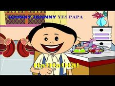Johny Johny Yes Papa | Kids Rhymes with Lyrics