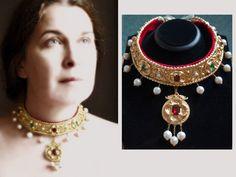 German 16th century style collar inspired by the art of Lucas Cranach. https://www.facebook.com/evajohanna.arts.crafts