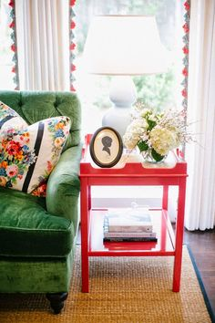 an oomph Edgartown side table in a custom color - perfect.