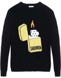 Love the christopher shannon CHRISTOPHER SHANNON Crewneck sweaters on Wantering. Crewneck Sweaters, Sweatshirts, Men's Knits, Christopher Shannon, Crew Neck, Graphic Sweatshirt, Knitting, Fashion, Collar Pattern