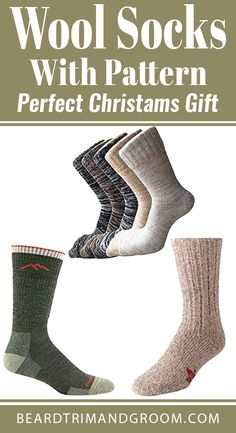 Wool socks with pattern for men can be a great gift for Christmas or birthday. Ideal present for your men and husband, boyfriend, dad, grandpa, boyfriend. Christmas Gifts For Boyfriend, Christmas Gifts For Friends, Boyfriend Gifts, Funny Gifts For Friends, Gifts For Dad, Extreme Cold Weather Boots, Darn Tough Socks, Beard Accessories, Christams Gifts