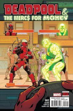Deadpool & The Mercs For Money - Marvel Comics Deadpool Und Spiderman, Deadpool Love, Lady Deadpool, Dead Pool, Wade Wilson, Marvel X, Captain Marvel, Marvel Heroes, Graphic Novels