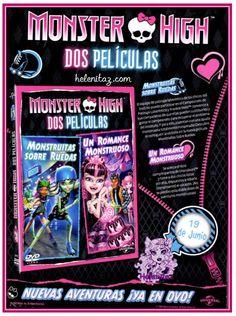 DVD Doble de Monster High - Mattel Inc.