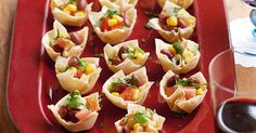 These mini Mexican filo cups make clever party pieces for even the most demanding crowd.