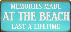 Country Marketplace - Memories Made at the Beach Last a Lifetime, $19.99 (http://www.countrymarketplaces.com/memories-made-at-the-beach-last-a-lifetime/)