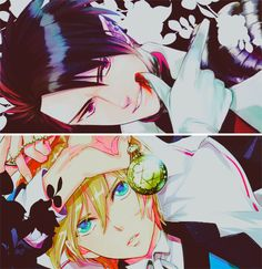 Makai Ouji: Devils and Realist William Twining and Dantalion