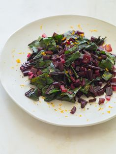 Our Citrus Sautéed Beet Stems are a great way to use all of the produce you buy. This recipe utilizes the leaf and stems of beets.