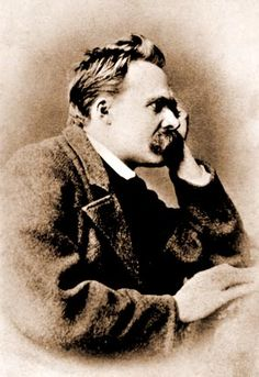 """""""Thoughts are the shadows of our sensations - always darker, emptier, simpler than these."""" Friedrich Nietzsche"""