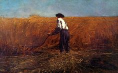 """""""The Veteran in a New Field"""" by Winslow Homer - used on the cover of """"Southern Accents"""" by Tom Petty"""