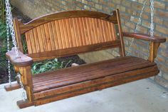 14 Fascinating Porch Swing Pattern Pic Ideas