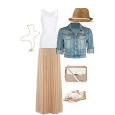 Summer, Polyvore omg I love this look