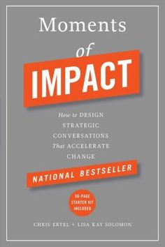 A great read for anyone starting their own business as part of their #LifeReimagined. Moments of Impact identifies the five key elements of a well-organized meeting and outlines strategies that will ensure that every meeting is a productive one.