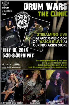 Appice brothers and band #JimCrean #IraBlack #PhilSoussan #music #drummers #band #live #rock