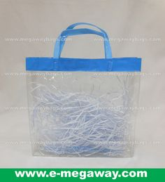 Easy Take Away See Through Carrying Bags from MegawayBags