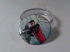 Comic Book 1.5 Button// Mister Fantastic, $1.00