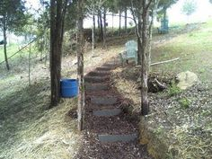 How we made cheap cider block stairs down the neighbors hillside to his pond and dug out a pathway. For all your merchant account and business funding needs visit http://www.quickfundingdirect.com/affiliates/jrox.php?id=1162 http://churchillsfinetravel.com/ - the best prices for your vacation needs For more do it yourself ideas and money saving ...