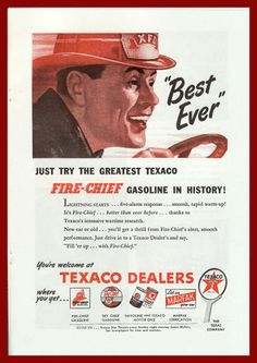 Vintage Advertising Posters | Texaco