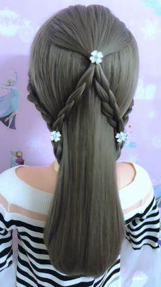 braids hairstyles For more videos, please click our website #braidedhairstyles #halfbraidedupdo