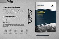 Creative Corporate Brochure 24 Page by Rashad on @creativework247