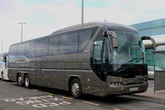 Ellison's Travel: MT61HVF Neoplan Newcastle Airport