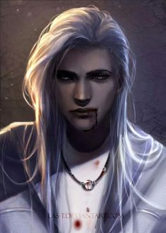 Rhysen Glorandal, the only free white wolf left in Ellaria. He hides in the Gold Mountains, in the depths Bellasen Forest.