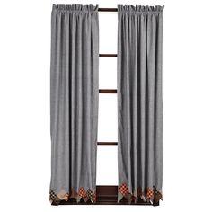 "Beacon Hill Short Curtain Panels 63"" x 36"""