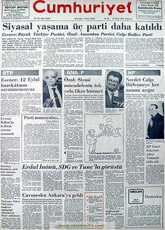 Cumhuriyet gazetesi 21 mayıs 1983