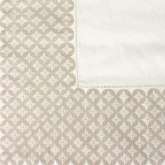 Shop White & Beige Border #Tablecloth Home Decor #Gifts for #ValentinesDay Online at CherryTin.com
