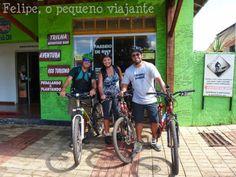 Felipe, o pequeno viajante: Lobo Guará Bike Adventure - trilha em duas rodas, banho de cachoeira e plantio de árvore em Bonito