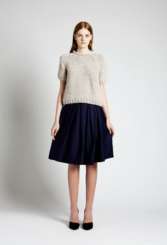 Pamela Sweater and Chloe Skirt | Samuji SS14 Classic Collection