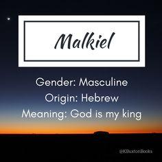 Malkiel - boy's name