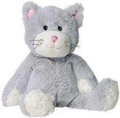 Ein stets stubenreiner Freund zum Kuscheln: Unsere Warmies®-Katze mit samtig weichem Fell ist ca. 35 cm lang und wiegt etwa 750 g. Sie duftet angenehm nach Lavendel und spendet zudem noch wohlige Wärme, was sie zu einem treuen Begleiter für Groß und Klein macht. SHOP HIER: http://www.warmies.de/epages/warmies.sf/de_DE/?ObjectPath=/Shops/warmies/Products/01090