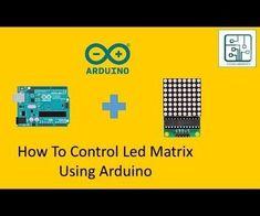 Arduino Led Matrix Connection With Utsource Arduino Lcd, Simple Arduino Projects, Connection, Led, Black Lightning