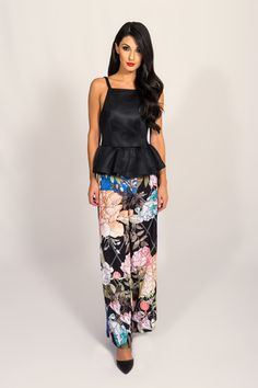 389efbf21250 Keepsake We Run It Floral Pant