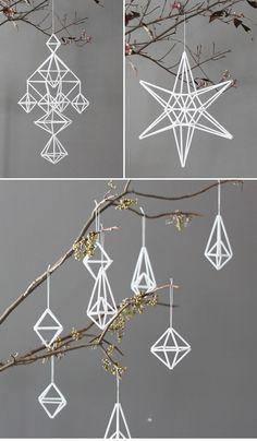 geometric-shape ornaments