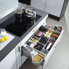 199 cheap kitchen storage organization ideas page 42 Kitchen Room Design, Kitchen Cabinet Design, Modern Kitchen Design, Home Decor Kitchen, Diy Kitchen, Kitchen Furniture, Home Design, Interior Design Living Room, Design Ideas