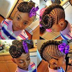 Beautiful Kids Cornrow Hairstyles For Your Girls III - DeZango Fashion Zone