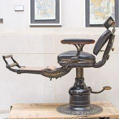 Barber Equipment, Close Shave, Safety Razor, Barber Chair, Barber Shop, Shaving, Dental, Barbershop Ideas, Dentists