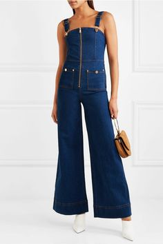 4ea768a8eec0 alice McCALL - Quincy denim overalls