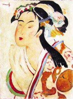 Nicolae Tonitza (Romanian: 1886-1940) | The Japanese Woman
