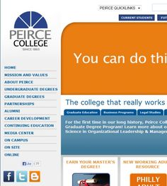 Peirce College 1420 Pine St Philadelphia PA 19102 Rittenhouse Square, Avenue of the Arts South Colleges & Universities