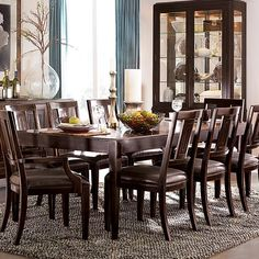 Greyson Living Loraine Antique Charcoal Trestle Dining Table By Greyson Livin