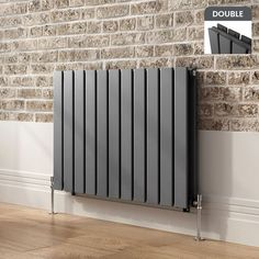 600 x 1210 Anthracite Double Flat Panel Modern Bathroom Designer Radiator in Home, Furniture & DIY, Heating, Cooling & Air, Radiators Paneling, House, Amazing Bathrooms, Home, Horizontal Radiators, Bathroom Design
