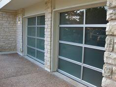 Glass Garage Doors installed in Lakeway, TX