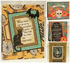 Created by Teresa G using Graphic 45 Steampunk Spells #Graphic 45 #Halloween #Steampunk