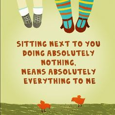 yep :) The best investment anyone can make in another is Time Spent Being Together, https://hideaheart.etsy.com
