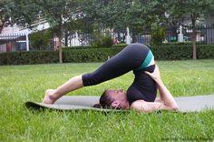 Practising Halasana (Plow Pose) regularly can help reduce blood pressure.