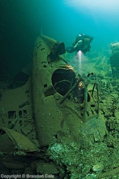 Wreck diving in Truk Lagoon